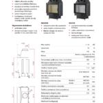 Kominek powietrzny Unico Dragon 2 – 4-13kW