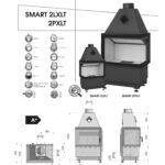 Kominek powietrzny Hajduk Smart 2PXLT/ 2LXLT