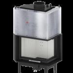Wkład kominkowy wodny Hitze Aquasystem 13,4kW 59×43.RG / LG