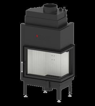 Wkład kominkowy wodny Hitze Aquasystem 13,6kW 59×43.R / L