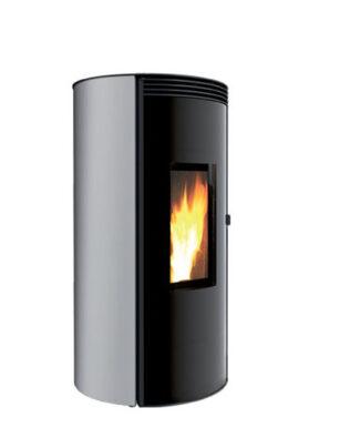 Piecyk na pellet Cuma NX 9kW z Dystrybucją gorącego powietrza