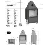 Kominek powietrzny Hajduk Smart XLTh / XLT