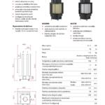 Kominek powietrzny Unico Dragon 8B 3-11,7kW