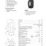 Kominek powietrzny Unico Dragon 8R 3-11,5kW