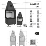 Kominek powietrzny Hajduk Smart 2LT/ 2PT
